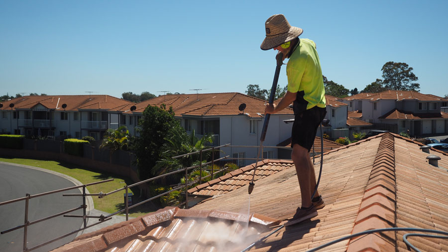 roof-restoration-clean-roof-surface